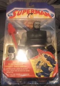 Superman The Animated Series Omega Blast Darkseid Kenner Rare International Card