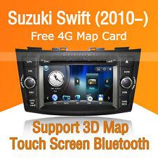 Car Stereo DVD Player GPS Navigation Bluetooth  Radio USB for Suzuki Swift 2010-