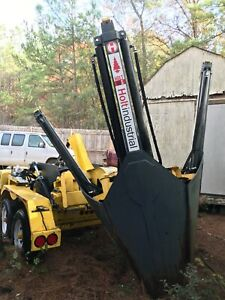 tree spade Holt 51 inch mounted on trailer factory demo model low hours