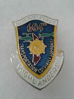 Authentic Beercan Insignia US Army 604th Transportation Company DUI Unit Crest
