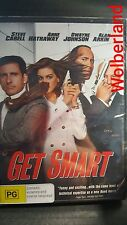 Get Smart [ DVD ] BRAND NEW & FACTORY SEALED, Region 4, FREE Next Day Post