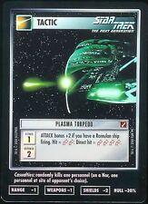 Star Trek CCG Plasma Torpedo 1E Foil Tournament Promo
