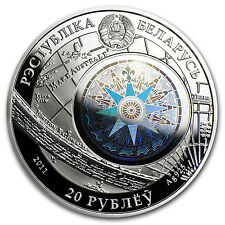 Belarus 2011 Sailing Ships with Hologram Silver Coin - Cutty Sark - SKU #69187