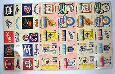 1979 Fleer Grand Slam Hi-Gloss Baseball Stickers New York Yankees - UNCUT SHEET