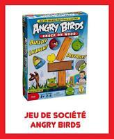JEU PLATEAU GAME JOUET SOCIETE ANGRY BIRDS NEUF RARE ENFANT JEUX OISEAUX COCHON