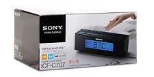 Sony ICF-C707 Clock Radio and Alarm /Nature Sounds