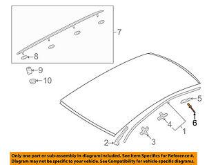 AUDI OEM 09-18 Q5-Quarter Glass Rivet N91201401