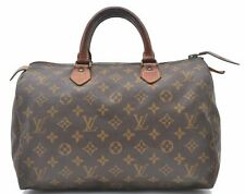 Authentic Louis Vuitton Monogram Speedy 30 Hand Bag Old Model LV A4465