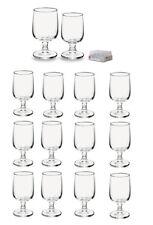 Confezione 12 bicchieri calici vino baloon in vetro rocco bormioli made in italy