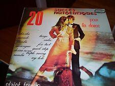 20 SUCCES AUTHENTIQUES POUR LA DANSE-STRICT TEMPO-LP-VG+-EDITION SPECIALE