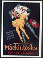 C1990's Art Card - Reproduction of a C1920's Mackintosh's Toffee Advertising