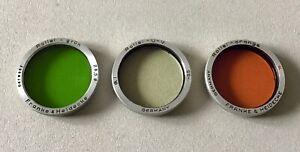Rollei Rolleiflex Filter Baj.I  3tlg.Set