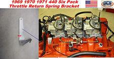 1969 1970 71 440 Six Pack Throttle Spring Bracket Made in USA #2951484 MoPar