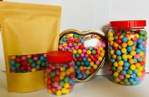 Multicolour Bubble Gum Balls 200g-2.5kg Bulk Kids Party Sweets Halal Gluten Free