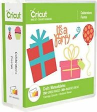 CRICUT *CELEBRATIONS* CARTRIDGE *NEW* BIRTHDAY PARTY FAVOR INVITATION TAG CARD