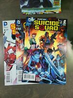New Suicide Squad 3 book lot #1,2,3 VF-NM  (2014)  D.C ~ New 52