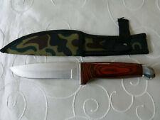 Bowie Messer Boda mit Gürteltasche f. Camping Jagd Angeln Outdoor aus Sammlung 3