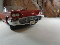 SUN STAR 1/18 SCALE 1960 FORD THUNDERBIRD , EXCELLENT CONDITION 15-00-5