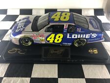FIRST CUP WIN!! 1:24 Jimmie Johnson #48 Lowe's 2002 Chevrolet Monte Carlo Raced