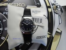 SEIKO CORE Braille Black Leather Strap SEIKO Quartz  NEW  SWL001-NEW