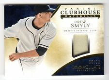 DREW SMYLY MLB 2014 IMMACULATE COLLECTION CLUBHOUSE MATERIAL (DETROIT TIGERS)