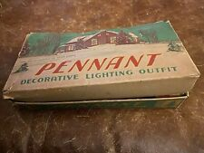 Vintage~Clemco Outifit/Paramount/Sure Light/Pennant Christmas Decor/Lighting