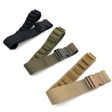 Tactical 29 Round Ammo Hunting Shotgun Shell Belt Nylon Bandolier Holder Sling