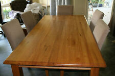 Oak Dining Furniture Sets with 9 Pieces
