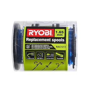 Ryobi Line Trimmer Spool and Line - 3 Pack