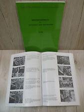 *Werkstatthandbuch Deutz Dieselmotor Motor 912 F3L912 D4506*