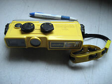 Used Minolta Weathermatic type 110 16mm Underwater Diving Scuba Camera w/warrant