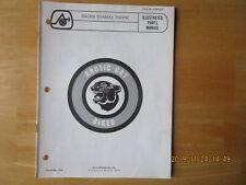 Arctic Cat Bike Sachs 50Amax Engine Parts Manual