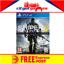 Sniper Ghost Warrior 3 Season Pass Edition PS4 Game New & Sealed In Stock