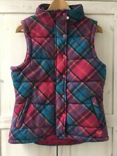 Ness Tartan Tweed Wool Plaid Check Bodywarmer Gilet 12 Sleeveless Jacket Padded