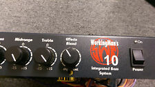 SWR Workingman's 10 bass AMP HEAD 220 VOLT