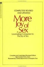 More Joy of Sex by Alex Comfort (1991, Paperback, Revised)