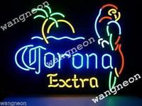 New Corona Extra Parrot Bird Palm Tree Beer Bar Real Neon Light Sign FREE SHIP