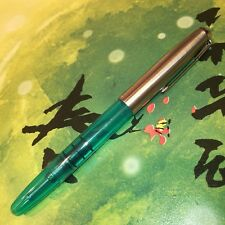 Wing Sung 601 Vacumatic Fountain Pen, Updated Version, Piston Type, Silver Cap