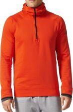 adidas ClimaHeat Half Zip Mens Training Hoody - Orange