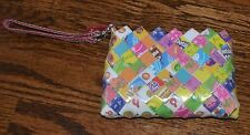 NAHUI OLLIN TOOTSIE POP ROLL WRAPPER ARM CANDY CLUTCH WRISTLET WALLET PURSE