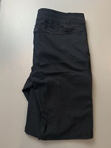 Men's Louis Garneau Black Poly/Spandex Outdoor Cycling Athletic Shorts Large