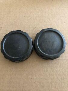 Vw Mk1 Rabbit Cabriolet Seat Recline Adjuster Cover OEM Black