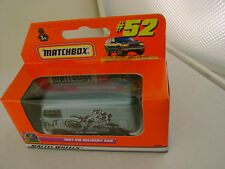 1999 MATCHBOX SUPERFAST #52 1967 VW DELIVERY VAN NEW IN BOX
