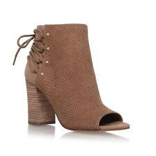 Nine West Britt Taupe Ankle Boots UK 8 EU 41 JS47 63