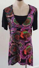 Asymmetrical Hem Geometric Casual Dresses for Women