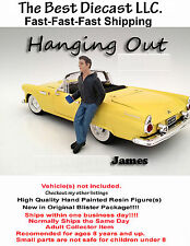 James American Diorama Hanging Out Resin Figure II 1:18