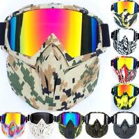 Winter Sport Goggles Snowboard Ski Snowmobile Eyewear Face Mask Sun Glasses