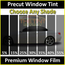 Fits 2014-2018 GMC Sierra 1500 Crew Cab Full Car Precut Window Tint Premium Film