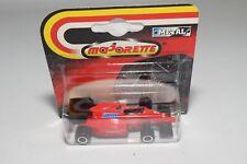 V 1:60 MAJORETTE FERRARI F1 FORMULA 1 RACING CAR MINT ON CARD 2ND VERSION