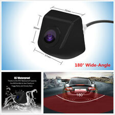 HD 180° Car Front View Backup Reversing Parking Camera Night Vision Waterproof